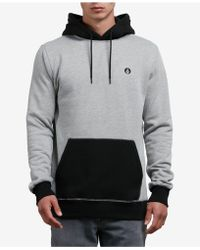 Volcom - Colorblocked Pullover Hoodie - Lyst