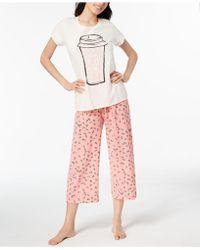Hue - ® Printed Capri Pajama Set - Lyst