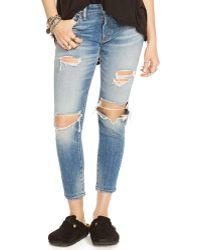 Denim & Supply Ralph Lauren - Kayla Cropped Skinny Jeans - Lyst