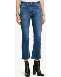 Denim & Supply Ralph Lauren - Kenmore Cropped Flare-leg Jeans - Lyst