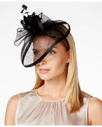 August Accessories - Large Feather Dress Fascinator - Lyst