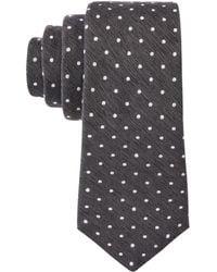 Con.struct - Con.struct Men's Melange Dot Slim Tie - Lyst