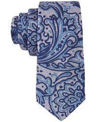 Con.struct - Con.struct Men's Paisley Slim Tie - Lyst