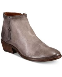 Frye - Carson Piping Bootie - Lyst