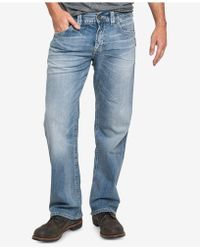 Silver Jeans Co. - Men's Relaxed-fit Eddie Jeans - Lyst