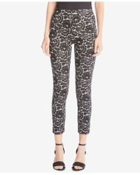 Karen Kane - Lace-print Skinny Trousers - Lyst