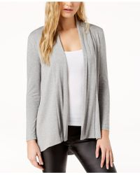 Vince Camuto - Open Front Cardigan (petite) - Lyst