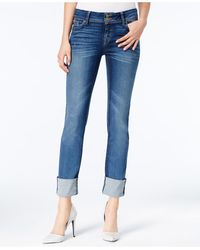 Hudson Jeans - Ginny Cuffed Off Shore Wash Jeans - Lyst