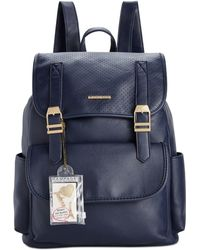 Rampage - Customizable Perforated Flap Backpack With Pins, Only At Macy's - Lyst