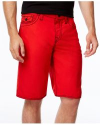 True Religion - Men's Big T Boardshorts - Lyst