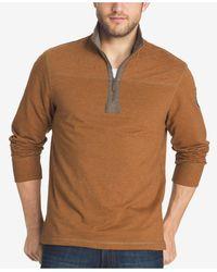 G.H.BASS - Men's Mountain Wash Zip-up Pullover - Lyst