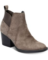 Born - Garcia Ankle Booties - Lyst