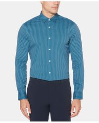 d944181da0d2 Lyst - Tommy Hilfiger Slim Fit Brunello Print Long Sleeve Shirt in ...