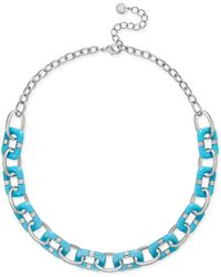 Charter Club | Resin Link Statement Necklace | Lyst