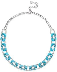Charter Club - Resin Link Statement Necklace - Lyst