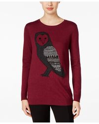 G.H.BASS - Owl Graphic Sweater - Lyst