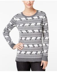 G.H.BASS - Animal Graphic Sweater - Lyst
