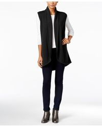 Style & Co. - Shawl-collar Sweater Vest - Lyst
