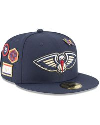 official photos ce0b6 63b20 KTZ Denver Nuggets City On-court 59fifty Fitted Cap in Blue for Men - Lyst