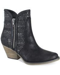 MIA - Austin Nova Suede Ankle Boots - Lyst