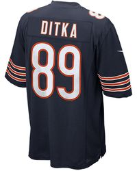 Nike - Men's Mike Ditka Chicago Bears Game Jersey - Lyst