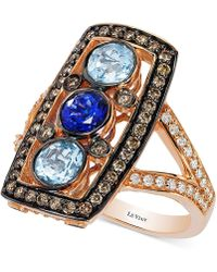 Le Vian - Diamond Knuckle Ring (2 Ct. T.w.) In 14k Rose Gold - Lyst