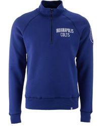 47 Brand   Men's Indianapolis Colts Crosscheck Quarter-zip Pullover   Lyst