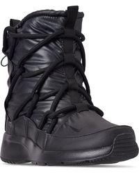 8e5703304f0b Nike - Tanjun High Rise High Top Sneaker Boots From Finish Line - Lyst