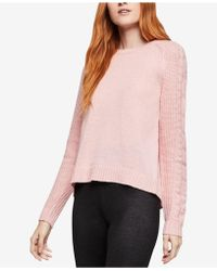 BCBGeneration - Cable-sleeve Flyaway Sweater - Lyst