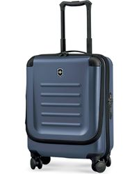"Victorinox - Suitcase, 21"" Spectra 2.0 Rolling Hardside Extra Capacity Dual Access Carry On Spinner Upright - Lyst"