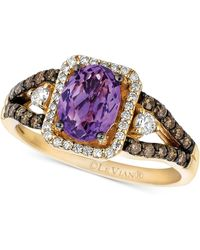 Le Vian - Amethyst (1 Ct. T.w.) And Diamond (1/2 Ct. T.w.) Ring In 14k Gold - Lyst