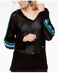 INC International Concepts - I.n.c. Perforated Varsity Hoodie, Created For Macy's - Lyst