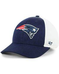 2bdcd7502ad 47 Brand - New England Patriots Hazy Flex Contender Stretch Fitted Cap -  Lyst