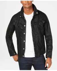 G-Star RAW - Mens Vodan Pleather Jacket, Created For Macy's - Lyst