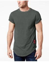 G-Star RAW - Swando Curved Hem T-shirt, Created For Macy's - Lyst