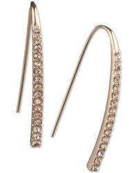 Givenchy - Crystal Threader Earrings - Lyst