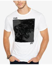 Buffalo David Bitton - Tastrie Patch Graphic T-shirt - Lyst