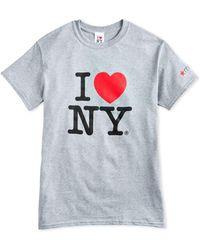 Macy's - I Love New York Adult Cotton T-shirt - Lyst