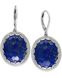Effy Collection - Lapis Lazuli Drop Earrings (24-1/2 Ct. T.w.) In Sterling Silver - Lyst