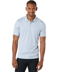 Perry Ellis - Two-button Polo - Lyst