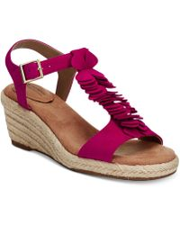 Giani Bernini - Bryana Wedge Sandals - Lyst