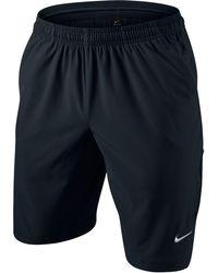 "Nike - N.e.t. 11"" Woven Tennis Shorts - Lyst"