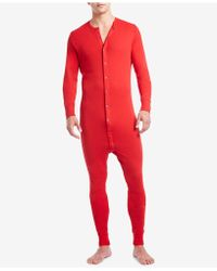 2xist - Men's Cotton Jumpsuit Pajamas - Lyst