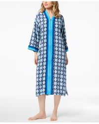 Charter Club - Printed Woven Caftan - Lyst