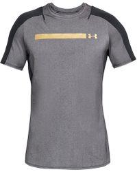 Under Armour - Metallic-logo T-shirt - Lyst