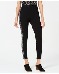 Style & Co. - Petite Embroidered Pull-on Trousers, Created For Macy's - Lyst