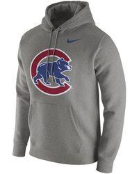 promo code ad82b c51f4 Chicago Cubs Dry Slub Hooded T-shirt.  50. Macy s · Nike - Chicago Cubs  Franchise Hoodie - Lyst