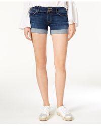 Hudson Jeans - Croxley Cuffed Denim Shorts - Lyst