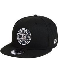 KTZ - Brooklyn Nets Circular 9fifty Snapback Cap - Lyst