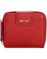 Nine West - Small Zip-around Indexer Wallet - Lyst